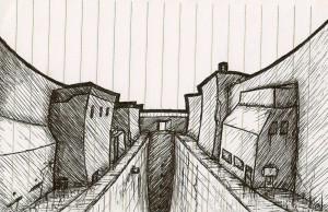 City Street Line Art small