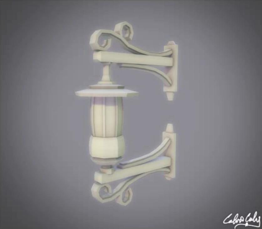 mounted-lantern
